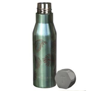 Khaki Palm Insulated Water Bottle