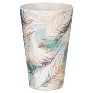 Bamboo Fibre Feather Cup