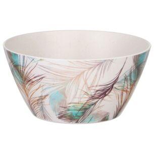 Bamboo Fibre Feather Bowl