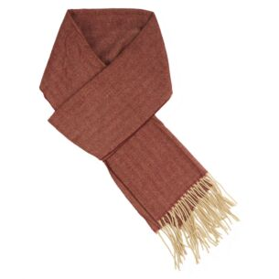 Red Striped Men's Scarf
