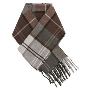 Red Plaid Boxed Men's Scarf