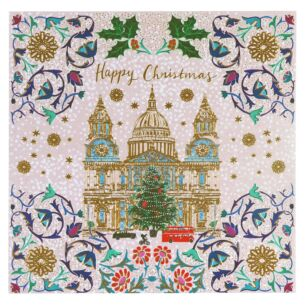 'St Pauls Cathedral' Set of 8 Luxury Christmas Cards