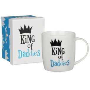 The Bright Side 'King of Daddies' Boxed Mug