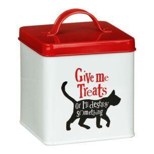 """""""Give Me Treats"""" Cat Treats Tin"""