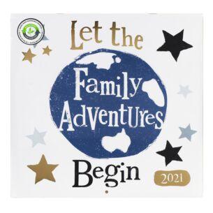 Family Wall Calendar 2021
