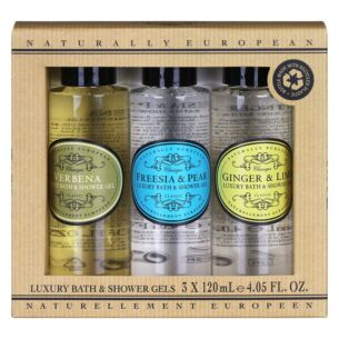 Naturally European Mini Shower Gel Collection