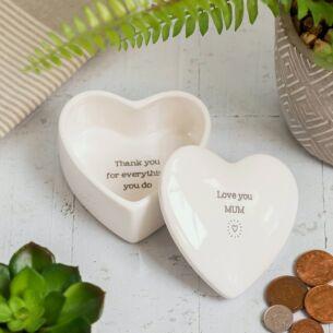 Evie 'Love You Mum' Secret Message Box