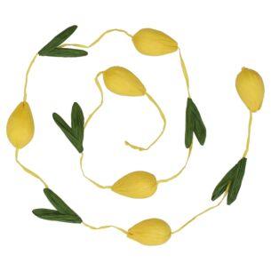 Yellow Bright Paper Tulip Garland