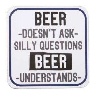 'Beer Understands' Coaster