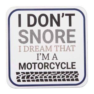 'I Don't Snore' Coaster
