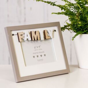 'Family' 6x4 Photo Frame