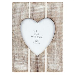 Slatted Heart Frame