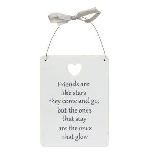 Friends Like Stars Large Sentiment Sign