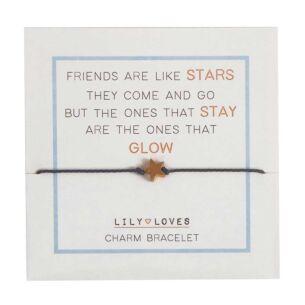 Lily Loves 'Friends Are Like Stars' Charm Bracelet