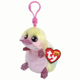 Ty Petunia Beanie Boo Key Clip