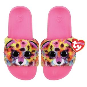 Giselle Pink Beanie Boo Small Slides