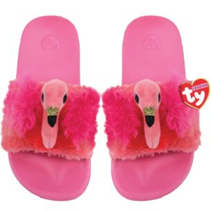 Ty Gilda Pink Beanie Boo Medium Slides