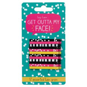 Get Outta My Face! Hair Clips