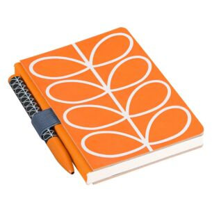 Orla Kiely Linear Stem Pocket Notebook & Pen Set