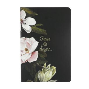 Black Opal Printed A5 Notebook