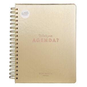 Gold Agenda Book