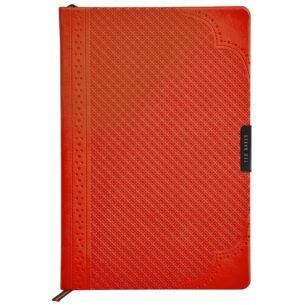 Orange Brogue Geo A5 Notebook