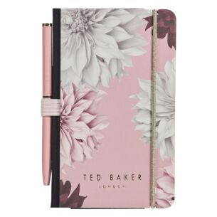 Pink Clove Mini Notebook with Pen