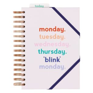 Yes Studio 'Monday Blink' Planner