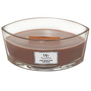 Stone Washed Suede Hearthwick Ellipse Candle