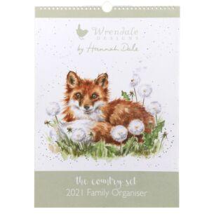 The Country Set Family 2021 A3 Family Calendar
