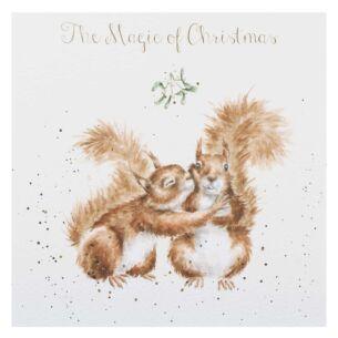'The Magic Of Christmas' Christmas Card