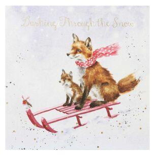 'The Sleigh Ride' Christmas Card