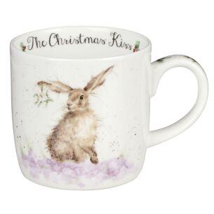 Christmas Kiss Mug From Royal Worcester
