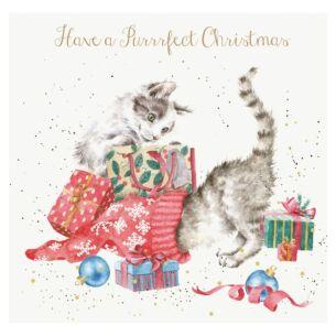 A Purrrfect Christmas Card