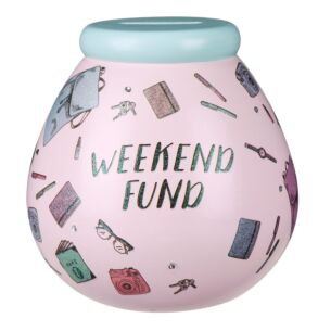 Weekend Fun Fund Money Pot