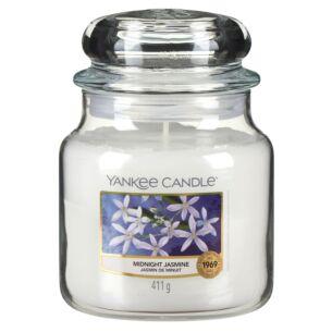 Midnight Jasmine Medium Jar Candle