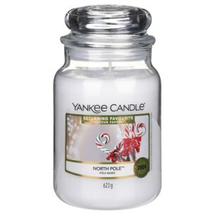 Returning Favourite North Pole Large Jar Candle