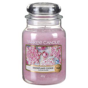 Snowflake Cookie Large Jar Candle