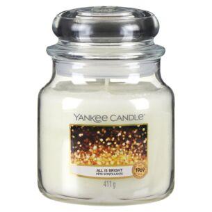 All Is Bright Medium Jar Candle