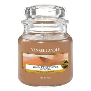 Warm Desert Wind Small Jar Candle