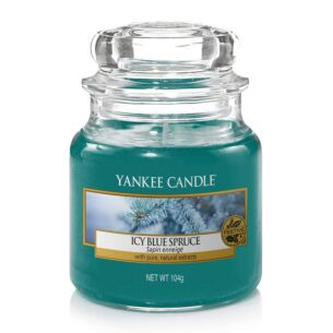 Yankee Candle Icy Blue Spruce Small Jar Candle