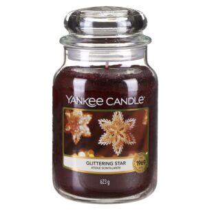 Glittering Star Large Jar Candle