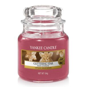 Yankee Candle Glittering Star Small Jar Candle