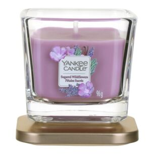 Sugared Wildflowers Small Elevation Candle