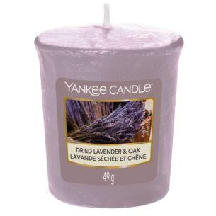 Dried Lavender & Oak Votive Candle