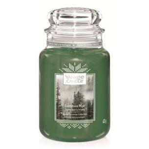 Evergreen Mist Large Jar Candle