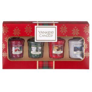 Yankee Candle Alpine Christmas Four Votives Gift Set
