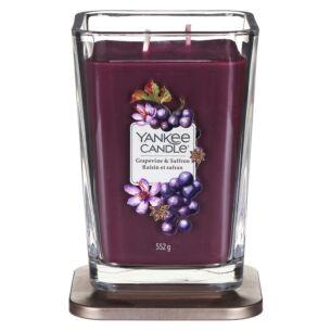 Grapevine & Saffron Large Elevation Candle