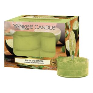 Yankee Candle Lime & Coriander Pack of 12 Tealights