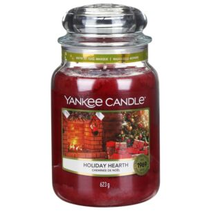 Holiday Hearth Large Jar Candle